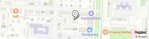Нотариус Рафикова Р.Р. на карте Альметьевска
