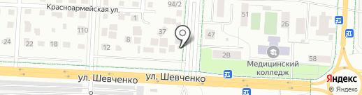 Магазин разливных напитков на карте Альметьевска