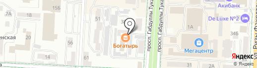 Карамелька на карте Альметьевска
