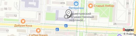 Банкомат, АБ Девон-кредит на карте Альметьевска