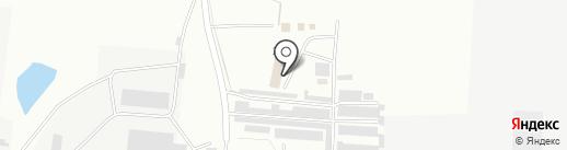 Изба на карте Альметьевска