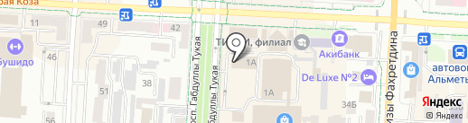 Ювелирная мастерская на карте Альметьевска