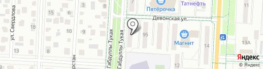 Дверсаль на карте Альметьевска