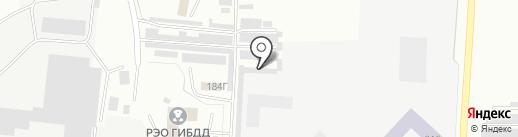 Автомир+ на карте Альметьевска