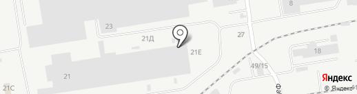 Краст на карте Набережных Челнов
