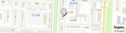 Магазин на проспекте Тукая на карте Альметьевска