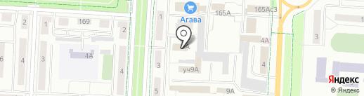 Землемер на карте Альметьевска