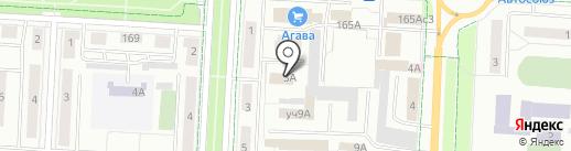 Альметьевское Социально-реабилитационное предприятие Всероссийского общества глухих на карте Альметьевска