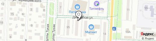 Пифкоff на карте Альметьевска