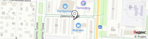 Лагуна на карте Альметьевска