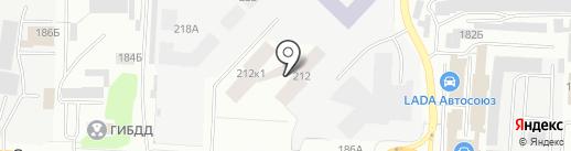 Всё для вашего авто на карте Альметьевска