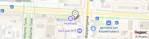 Кулинария на карте Альметьевска