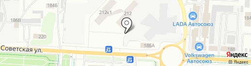 АвтоКРИСТАЛЛ на карте Альметьевска