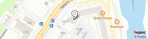 РусАлка на карте Набережных Челнов