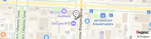 Стиль на карте Альметьевска