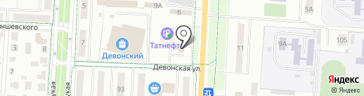 Альтернатива на карте Альметьевска