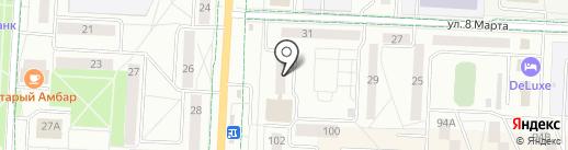 Магазин дверей на карте Альметьевска