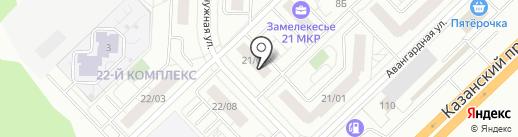 УКС Камгэсэнергострой на карте Набережных Челнов