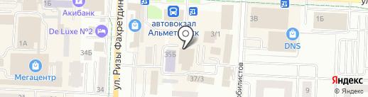 АК Барс-Мед на карте Альметьевска