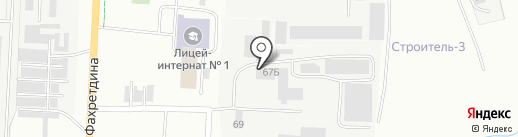Елховлес на карте Альметьевска
