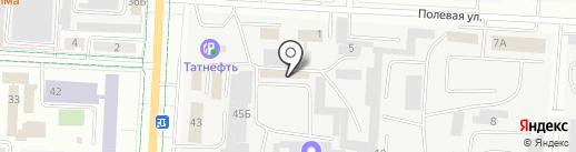 Альвинт на карте Альметьевска