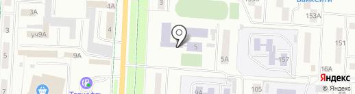Альметьевский колледж физической культуры на карте Альметьевска