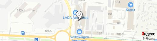 LADA на карте Альметьевска