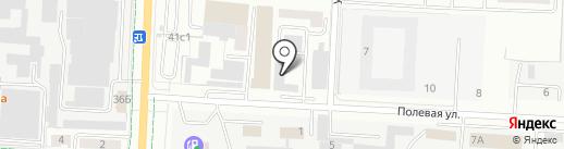 Альфа-Сервис на карте Альметьевска