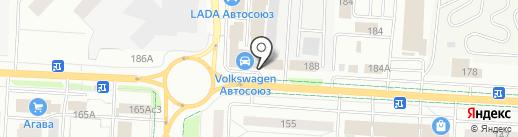 Volkswagen на карте Альметьевска