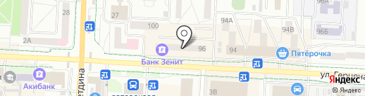 Электрощит на карте Альметьевска