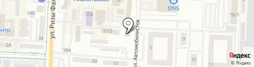 Шик на карте Альметьевска