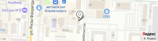 Теплодом на карте Альметьевска