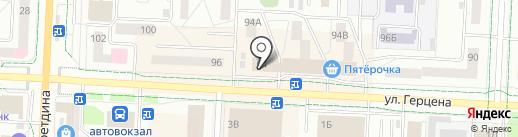 Интехбанк, ПАО на карте Альметьевска