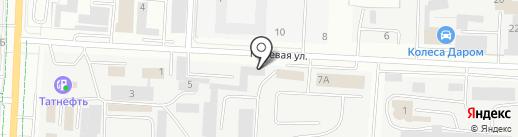 Шэшбэш на карте Альметьевска