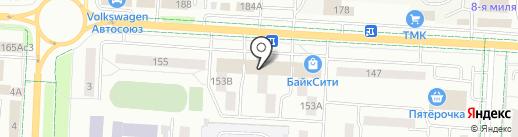 Почтовое отделение №12 на карте Альметьевска