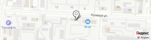 Агат на карте Альметьевска