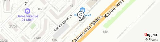 Кирпич116 на карте Набережных Челнов