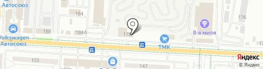 Чулпан-Мед на карте Альметьевска