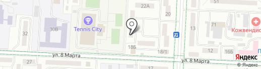Ателье-мастерская на карте Альметьевска