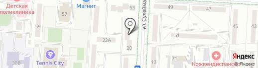 Туганлык на карте Альметьевска