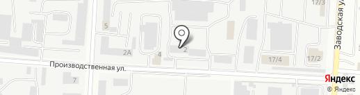 Татнефть-АльметьевскРемСервис на карте Альметьевска