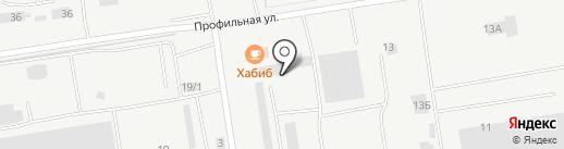 АПОГЕЙ КАМА на карте Набережных Челнов