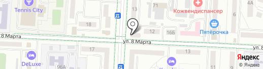 Банкомат, Сбербанк, ПАО на карте Альметьевска