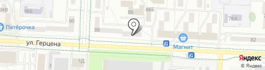 Росс-Тур на карте Альметьевска