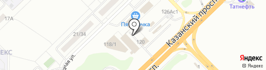 Welcome на карте Набережных Челнов