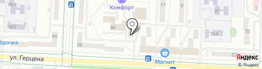 Пыво №1 на карте Альметьевска