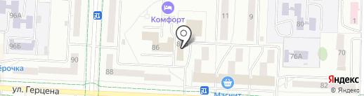 Эфес-сервис на карте Альметьевска