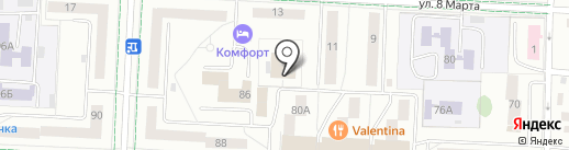 Центр занятости населения г. Альметьевска на карте Альметьевска