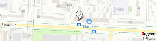 Бюрократ на карте Альметьевска