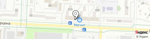 Бережная аптека на карте Альметьевска